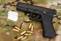 Militärmaterial 22 Lizenzfreies Stockfoto