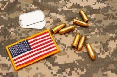 Militärmaterial 28 Lizenzfreies Stockbild
