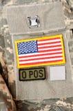 Militärmaterial 29 Stockfotografie