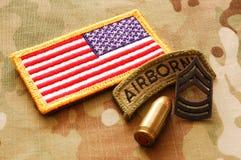 Militärmaterial 4 Stockfoto