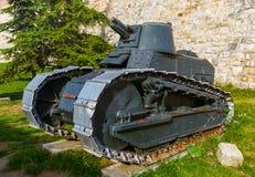 Militärmuseum in Kalemegdan Belgrad - Serbien lizenzfreies stockfoto