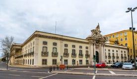 Militärmuseum in Lissabon Stockbilder