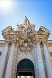Militärmuseum Lissabon-Tor Stockbilder