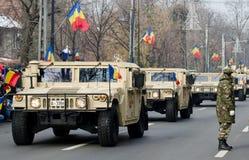Militärparade Lizenzfreie Stockfotos