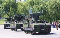 Militärparade in Ankara Lizenzfreie Stockfotos