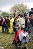 Militärparade in BELGRAD Lizenzfreies Stockfoto