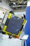 Militärsatellit an der Ausstellung stockfoto