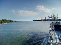 Militärschiff Stockfotografie