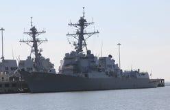 Militärschlachtschiff stockfotos