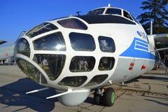 Militärt flygplan An-30 Fotografering för Bildbyråer
