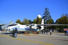 Militärt flygplan An-30 Arkivfoton