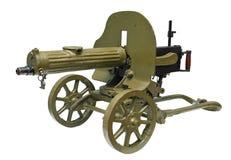 militärt gammalt kraftigt för trycksprutamaskin Royaltyfri Fotografi