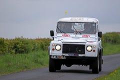 Militärt lag i Jim Clark Rally Royaltyfria Foton