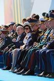 Militärt ledarskap Arkivfoto