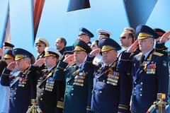 Militärt ledarskap Fotografering för Bildbyråer