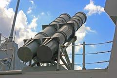 militärt raket arkivfoto