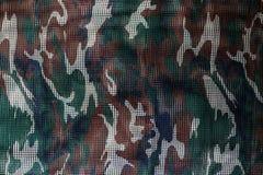 Militärtarnnetzhintergrund Stockfotografie