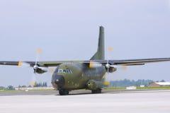 MilitärTransportflugzeug Lizenzfreies Stockfoto