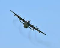 Militärtransportflugzeug Lizenzfreie Stockfotos