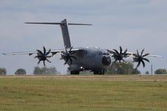 Militärtransportvorrichtung Airbus A400M Stockfotos