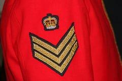 Militäruniform Lizenzfreie Stockbilder