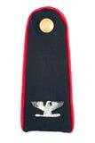 Militäruniforminsignien Stockbild