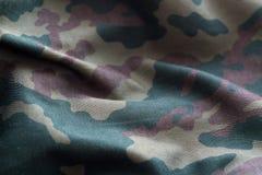 Militäruniformmuster mit Unschärfeeffekt Stockfoto