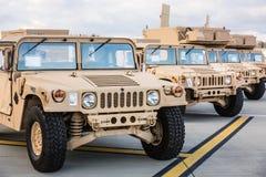 Militärunterstützung nach Ukraine Stockbild