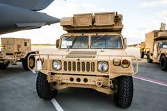 Militärunterstützung nach Ukraine Lizenzfreies Stockbild