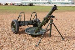 Militärwaffe, Gewehre und Kanone Stockfotos