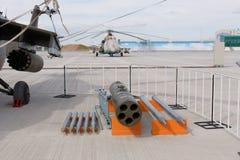 Militärwaffe, Gewehre und Kanone Lizenzfreie Stockfotografie