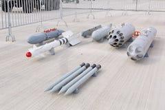 Militärwaffe, Gewehre und Kanone Stockbilder