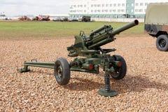 Militärwaffe, Gewehre und Kanone Lizenzfreies Stockfoto