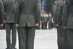 Militärzeremonie Stockbild