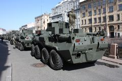 Milit?r utrustning f?r st?tar royaltyfri bild