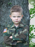 Militair 1 van het stuk speelgoed Royalty-vrije Stock Fotografie