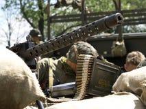 Militair stock fotografie