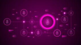 militair avatar pictogram Van geplaatst Avatars royalty-vrije illustratie