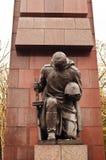 Militair bij Treptower-Park Royalty-vrije Stock Foto