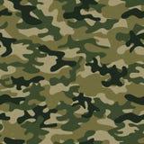 Militair camo naadloos patroon Vectorachtergrond voor uw ontwerp stock illustratie