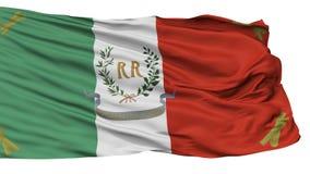 Militair de de 19Th Eeuwvlag van Roman Republic, op Wit wordt geïsoleerd dat Royalty-vrije Illustratie