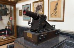 Militair en oorlogsmuseum in Brussel Stock Fotografie