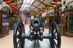Militair en oorlogsmuseum in Brussel Royalty-vrije Stock Fotografie