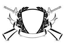 Militair frame Royalty-vrije Stock Fotografie