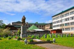 Militair Gedenkteken Navahrudak, Wit-Rusland Royalty-vrije Stock Foto's