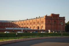 Militair-historisch Museum van artillerieingenieurs en signaalkorpsen in Heilige Petersburg, Rusland Royalty-vrije Stock Foto's