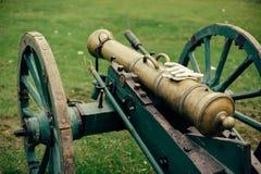 Militair kanon Royalty-vrije Stock Afbeeldingen
