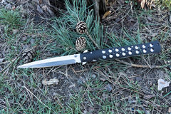 Militair mes met een scherp blad Royalty-vrije Stock Foto