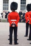 Militair op Parade Royalty-vrije Stock Fotografie