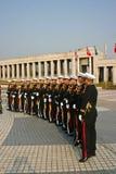 Militair personeel, Zuid-Korea Stock Foto's